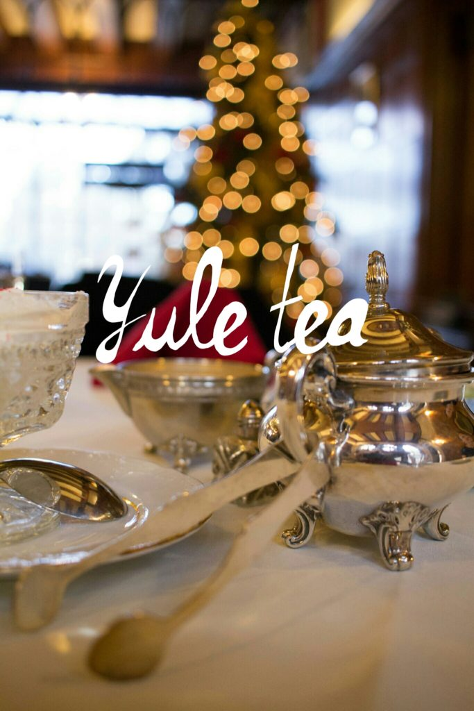 Yule Tea at Glen Eyrie! I great castle to visit in Colorado Springs! Historical and beautiful.