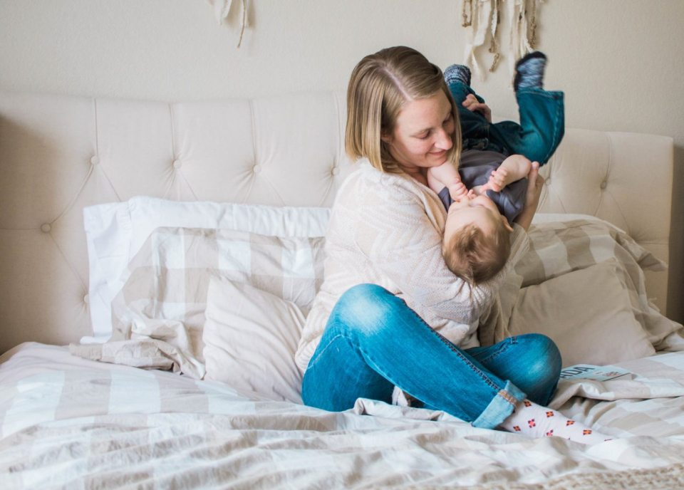 I love this fun Mommy and Me in home photography session! These memories will be great forever!