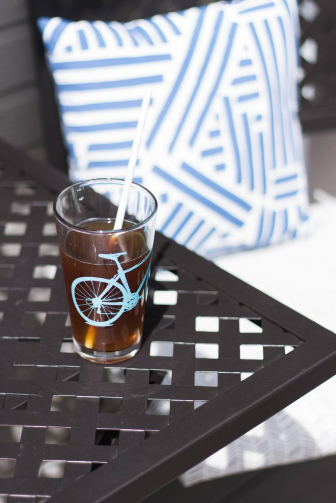 Summertime Sweet Tea moments on the back porch! I love organic sweet tea and summertime!