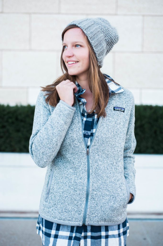 Layering up in Old Market Omaha