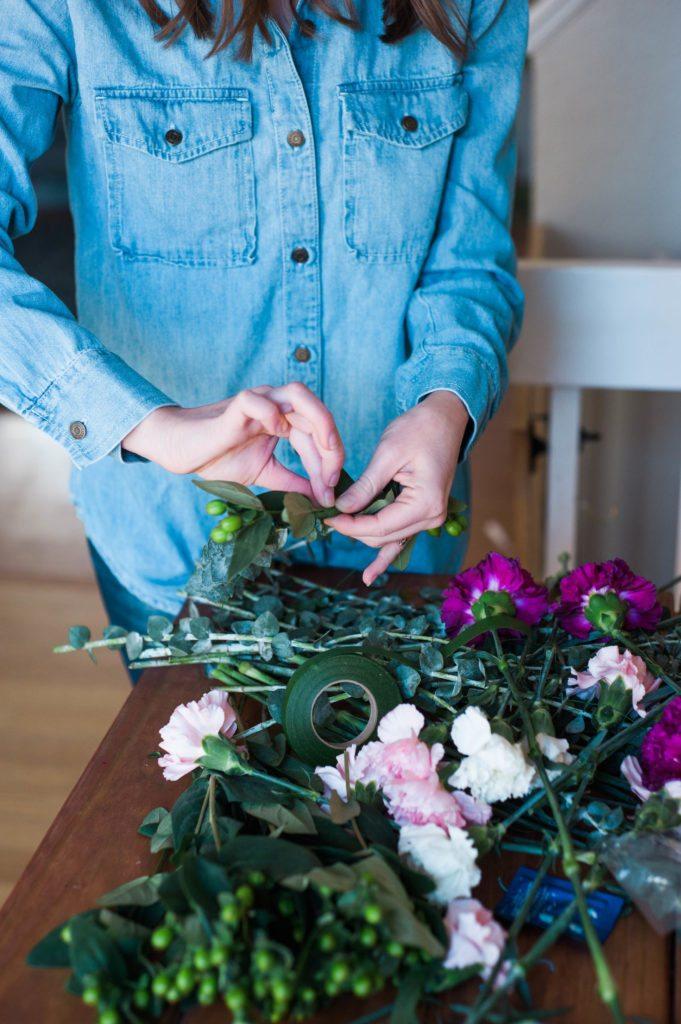 Flower Crown Valentine's Party