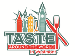 Logo for the Westmont Restaurant Week 2020 Taste Around the World