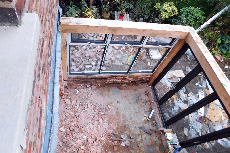 Building Garden Gate Frame