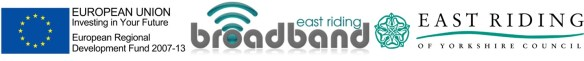 East Riding of Yorkshire Council, East Riding Broadband, European Union, Oak Consult