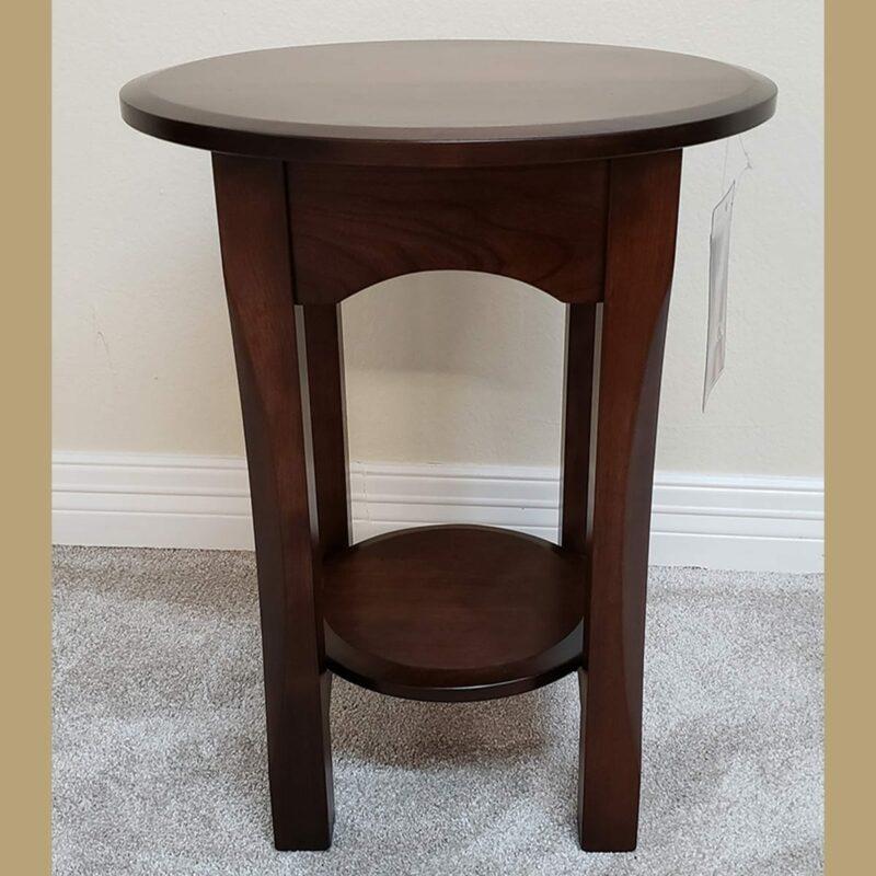 18 bennett cherry end table