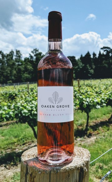 Benham Blush Dry English Rose by Oaken Grove Vineyard