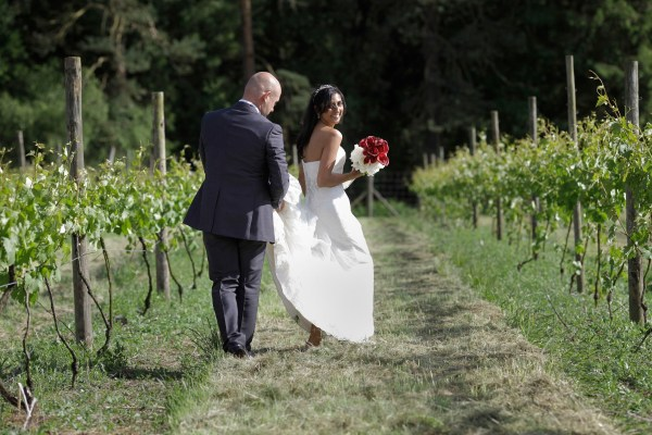 Leena and Phil Rossi Wedding and Event Venue at Oaken Grove Vineyard