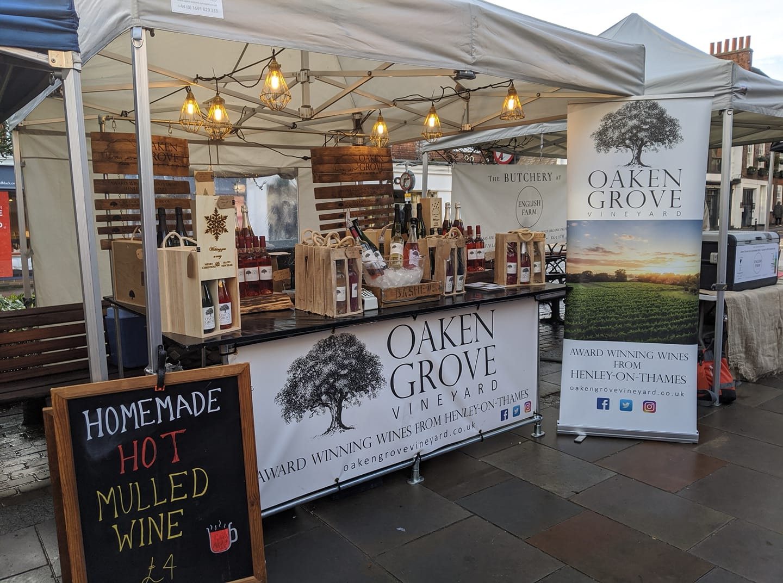 Oaken Grove Vineyard at Marlow Market