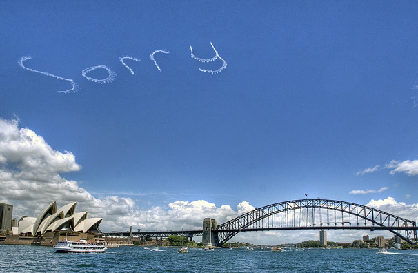 sorry in the sky
