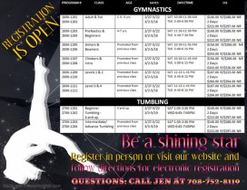 Winter Gymnastics and Tumbling