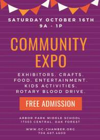 COMMUNITY EXPO POSTER 2021