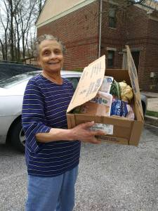 Mother-Mary-Food-Delivery-COVID19-Missionaries-Food-Ministry-Oak-Grove-AMEZ-Church