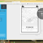 Map of Ponce, Puerto Rico made on 'Mapify'