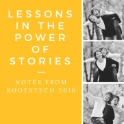 Lessons in the power of stories