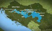 BiH flooding - map
