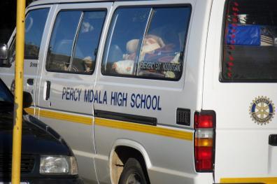 Percy Mdala Matrics 2011 Camp