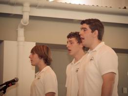 Luke Mincione, Ruben Graupe and Joshua van der Merwe