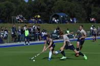 Oakhill 1st team Nic Lellyett being challenged for the ball (Copy)
