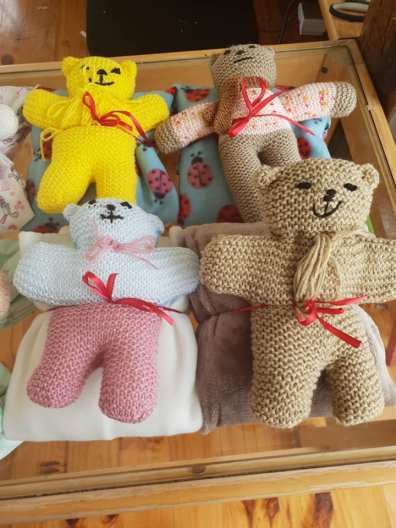 Knitted Teddy Bears 2019 (3)