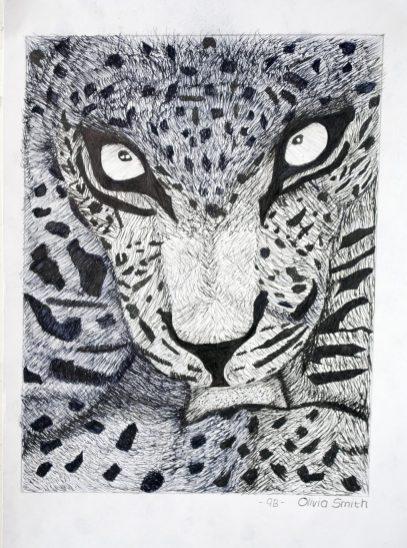 Grade 9 Pen Drawings (6)