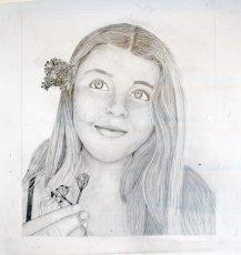 Gr 10 self portraits (3)