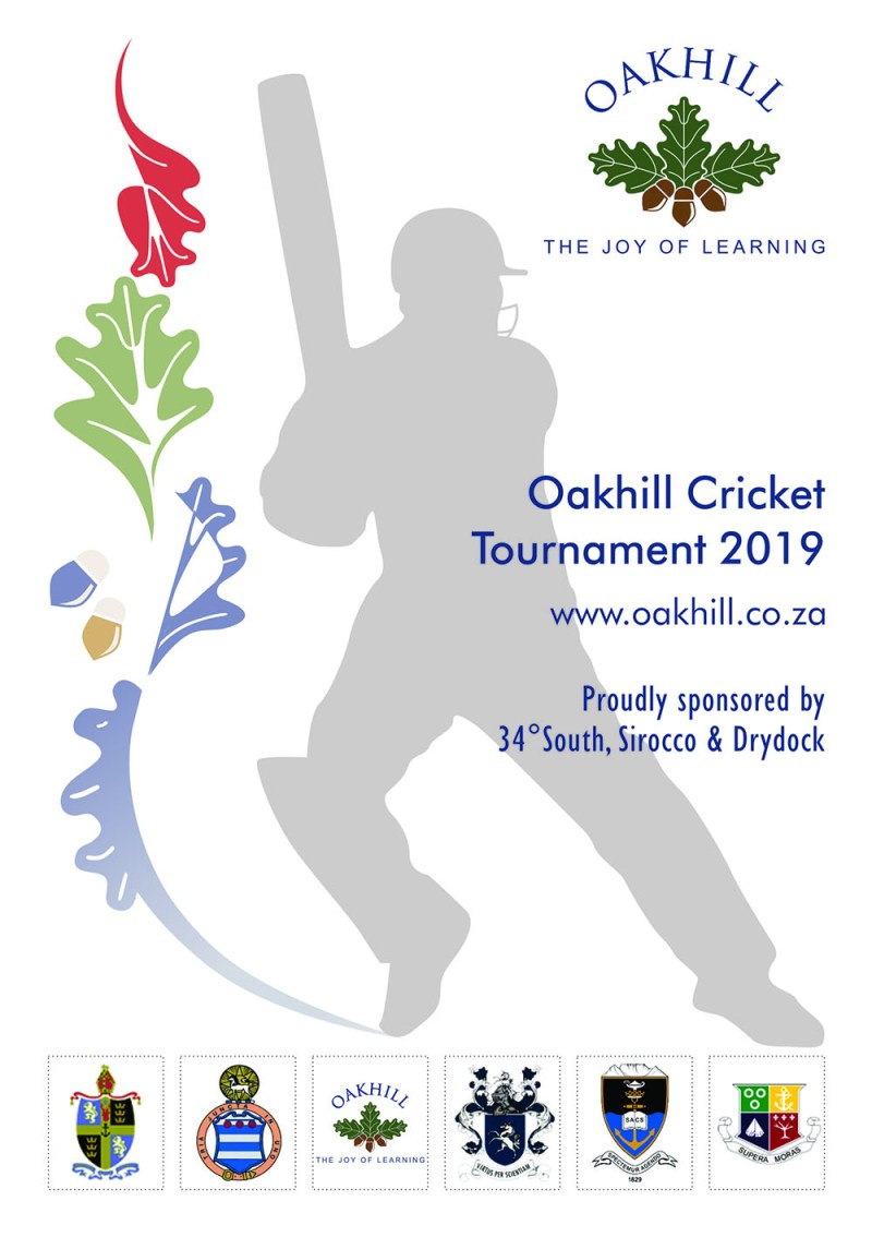 Oakhill Cricket Tournament 2019_Programme Front