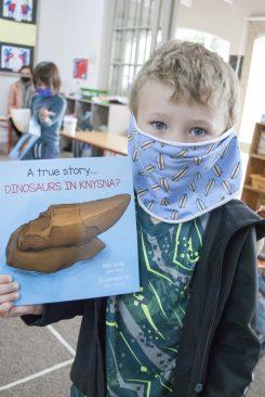 Dinosaur Book Reading (2)