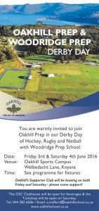 Oakhill-Woodridge Derby Day