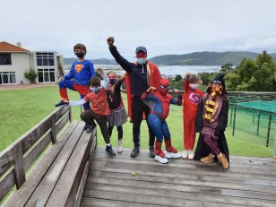 Superheroes in Action 3