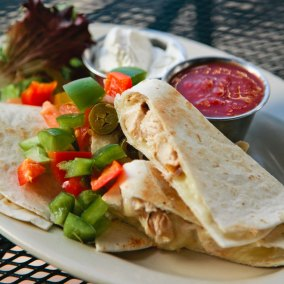 Oak Hill's Quesadilla is One of the Most Popular Things On the Menu for a Reason!