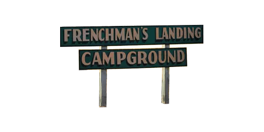logo for Frenchman's Landing Campground