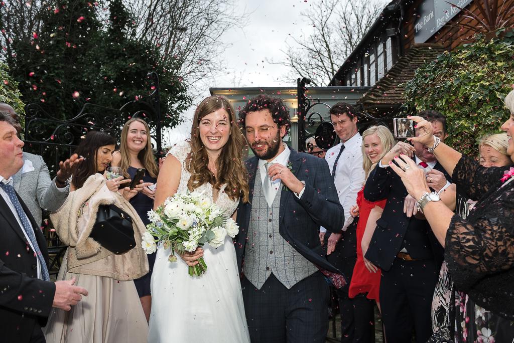 The Barn Restaurant in Tunbridge Wells |Wedding Photographers Oakhouse Photography