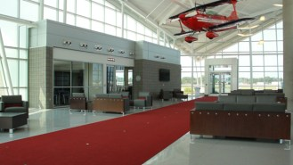 The Oakland County International Airport Terminal.