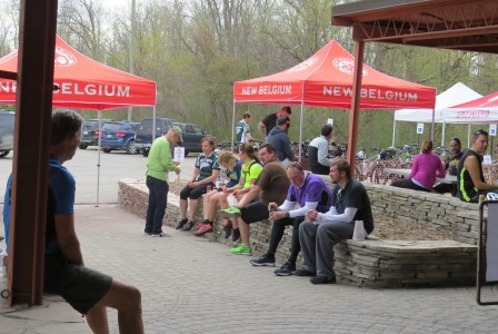 The Paint Creek Cider Mill was the perfect rest stop for the Charity Ride.