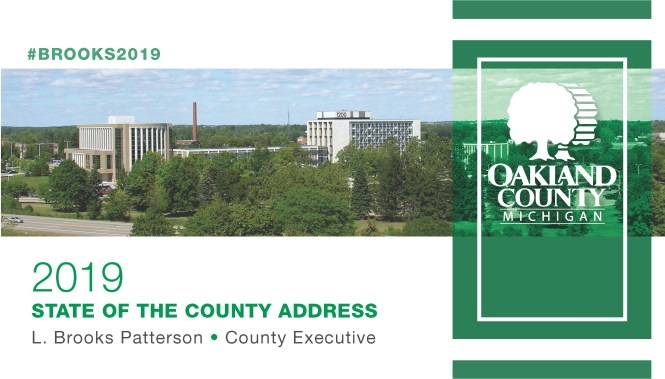 Cover Slide for 2019 State of the County Address