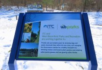 ITC sign at parking lot