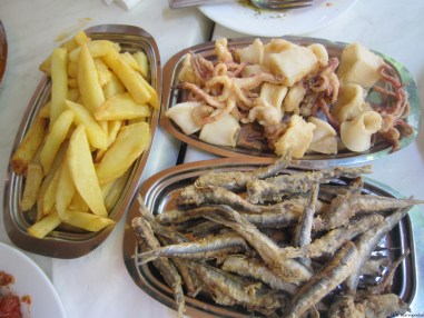 Seafood and Fries