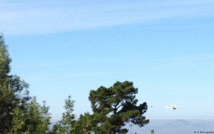 Shuttle over Oakland