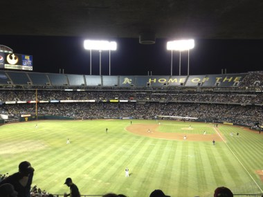 A's Home Game