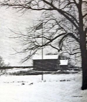 Playground field looking west 1940