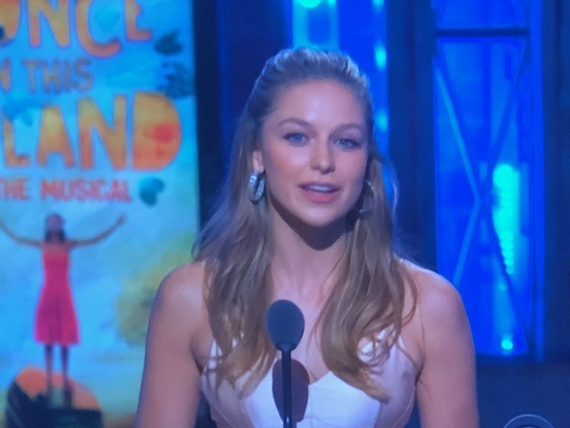 Melissa Benoist, Supergirl Star And San Diego Comic Con Favorite, Presents At 2018 Tony Awards