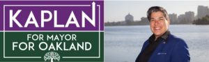 Kaplan For Oakland Mayor Logo