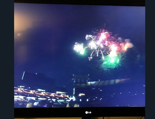 Oakland Athletics Fourth Of July 2018 Fireworks At Oakland Coliseum