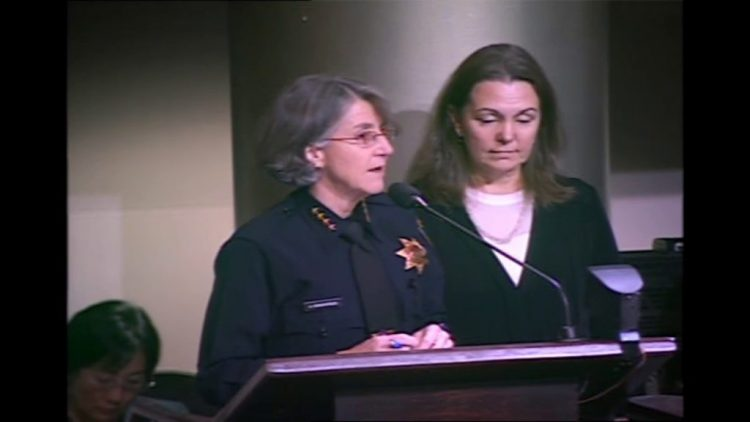 OPD Chief At Police Commission Meeting