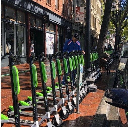 Marshawn Lynch Promos Electric Skateboard Scooters Invading Oakland