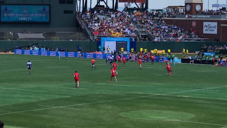 Rugby World Cup Sevens 2018 SF Canada Clobbering Japan After Ireland Beat Kenya