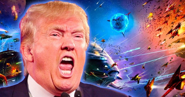 Will Donald Trump's Space Force Save America From The Apocalypse? Steve Lowe