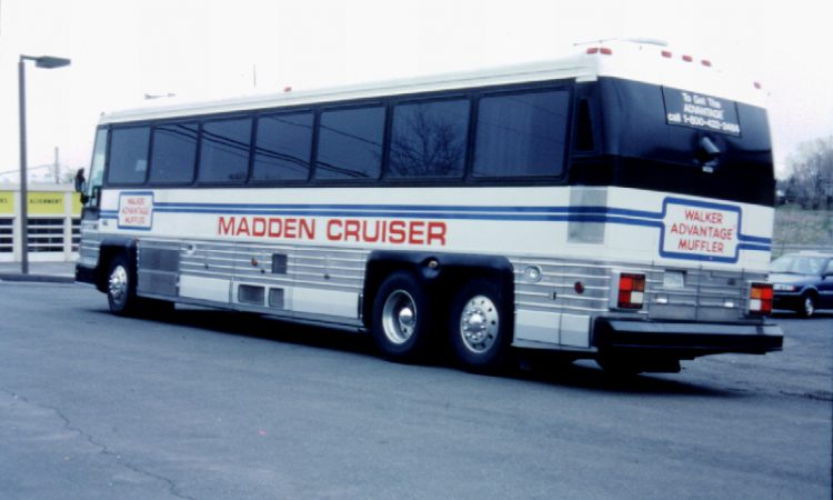 Madden Cruiser Given To Pro Football Hall Of Fame By John Madden Of Oakland Raiders