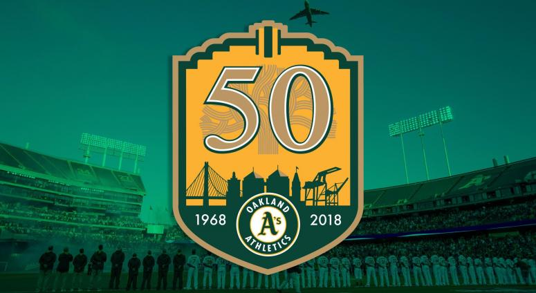 Oakland A's 50 Year Anniversary Celebrated Exhibit at Oakland Main Library