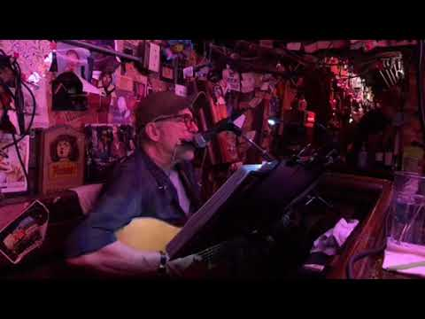"""Paul Hlebcar Sings  """"Love Minus Zero / No Limit"""" By Bob Dylan At The Alley Bar Oakland"""